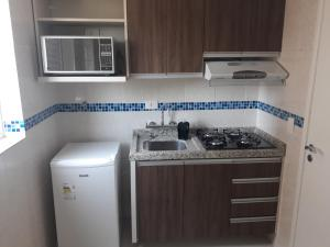 A kitchen or kitchenette at Real Plaza Flat 1505