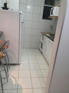 A kitchen or kitchenette at Flat em Thermas Paradise