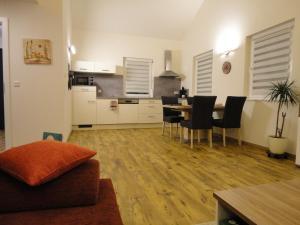 Küche/Küchenzeile in der Unterkunft Gasthof Reiterstuben