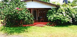 Un jardín fuera de Cabañas La Orquídea
