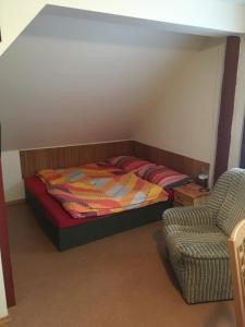 Postel nebo postele na pokoji v ubytování Apartmány Nikola