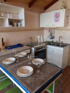 Una cocina o zona de cocina en Las 2 Golondrinas