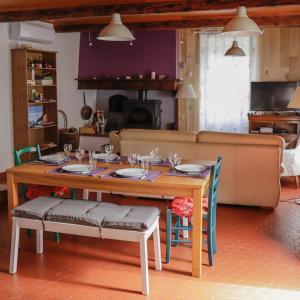 Restaurant ou autre lieu de restauration dans l'établissement Maison du Coué Pyrénées Mourtis