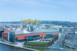 A bird's-eye view of Dream Apartments Belfast