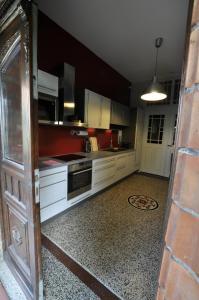 Küche/Küchenzeile in der Unterkunft MCM Comfort Apartments