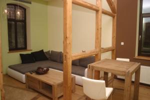 Ein Sitzbereich in der Unterkunft MCM Comfort Apartments