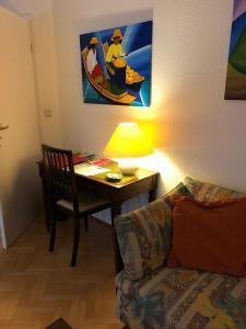 TV a/nebo společenská místnost v ubytování Casa Vesalia
