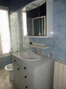 Salle de bains dans l'établissement Gite lieu dit Gautier