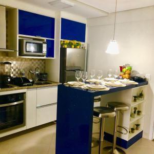 Una cocina o zona de cocina en Apto. Novo Landscape Beira Mar