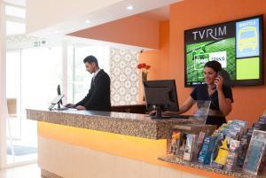 Vestibils vai reģistratūra naktsmītnē TURIM Estrela do Vau Hotel