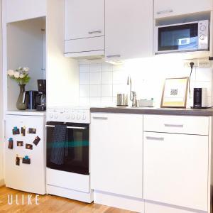 O bucătărie sau chicinetă la Uman City Studio-Flemingsgatan
