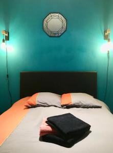 Katil atau katil-katil dalam bilik di Appartement Marseille, Centre&Vieux-port