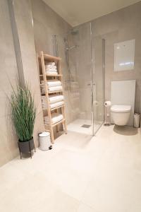 A bathroom at Heart of Tromsø