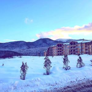 Saint Ivan Ski Apartments during the winter