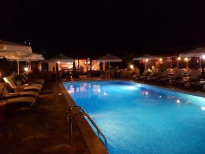 The swimming pool at or close to Agrili Apart Hotel