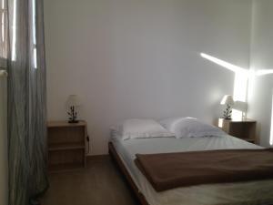 Un ou plusieurs lits dans un hébergement de l'établissement Le Thyreneen