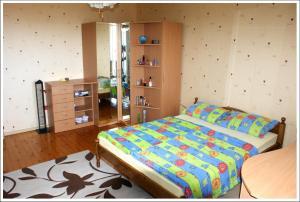 Krevet ili kreveti u jedinici u okviru objekta Villa Doris