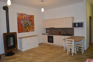 Cucina o angolo cottura di Parravicini Red Flower apartment
