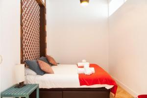 Ein Bett oder Betten in einem Zimmer der Unterkunft Luxury Apartment Puerta del Sol and Gran Vía