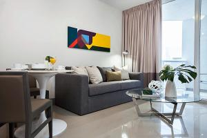 A television and/or entertainment center at Stay Alfred Brickell