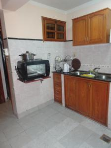A kitchen or kitchenette at Reposo de Reyes