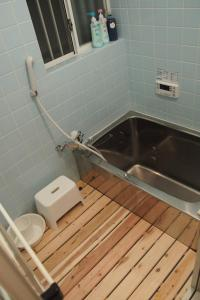 A bathroom at Love Kyoto Kyoenkan
