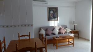 Zona de estar de Villa Madrid