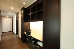 A television and/or entertainment center at Orakai Insadong Suites