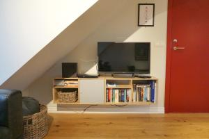 A television and/or entertainment center at Nest Apartments
