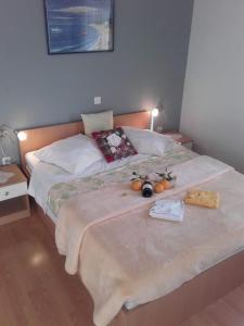 Postel nebo postele na pokoji v ubytování Villa Mia Makarska