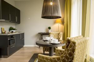 Svetainės erdvė apgyvendinimo įstaigoje Frogner House Apartments - Skovveien 8