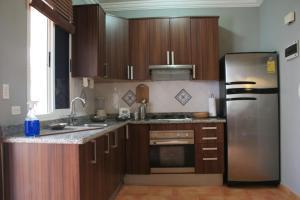 Kuhinja oz. manjša kuhinja v nastanitvi Bavaro Green