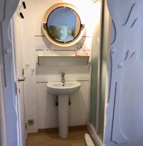 Een badkamer bij Linden-Jachthoorn