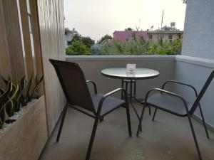 Ein Balkon oder eine Terrasse in der Unterkunft Art Apartment