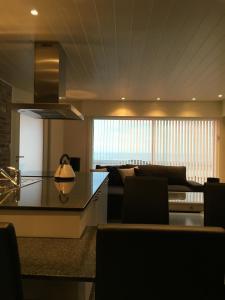 The lounge or bar area at Au gré du vent