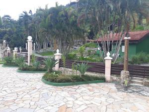 Garden sa labas ng Sítio Canaã
