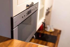 Η κουζίνα ή μικρή κουζίνα στο Apartment with the terace