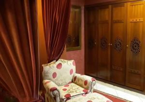 A seating area at Marina Agadir