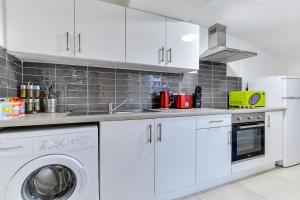 Crawford Square Apartment廚房或簡易廚房