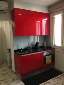 Küche/Küchenzeile in der Unterkunft Apartamento City
