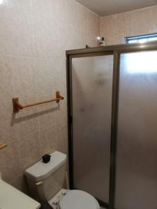 A bathroom at Casa Pistache L.A.