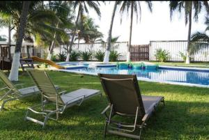 Piscina en o cerca de Nichos Beach Villas