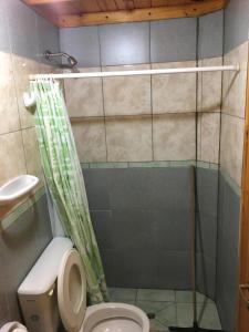 Un baño de Tres Abriles
