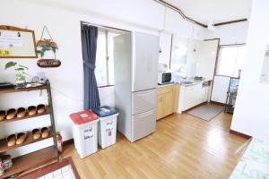 A kitchen or kitchenette at Olive house