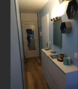 A bathroom at Appartement calme 1-4 personnes