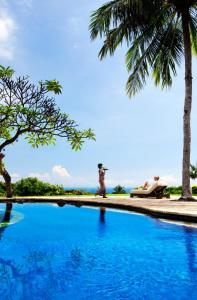 The swimming pool at or close to The Damai