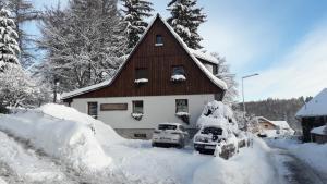 Obiekt Apartamenty Szklarska zimą