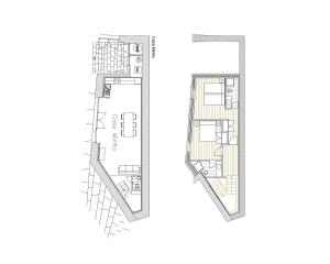 The floor plan of Casas da Costeira