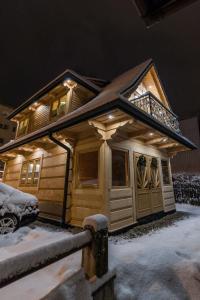 Obiekt Domek Góralski - Górski Hyr zimą