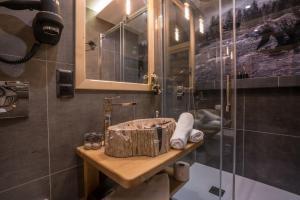 Koupelna v ubytování Domek Góralski - Górski Hyr